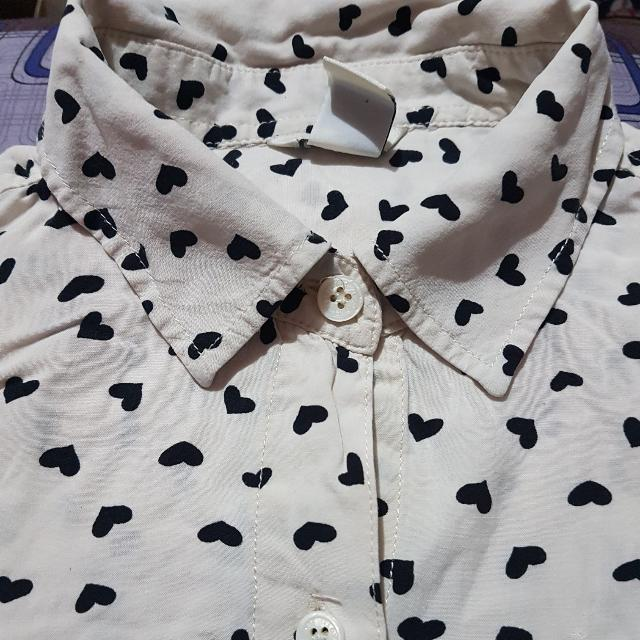 Forever 21 Longsleeve Buttondown Blouse