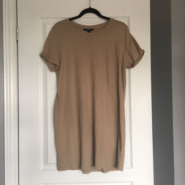Forever 21 Nude Tshirt Dress