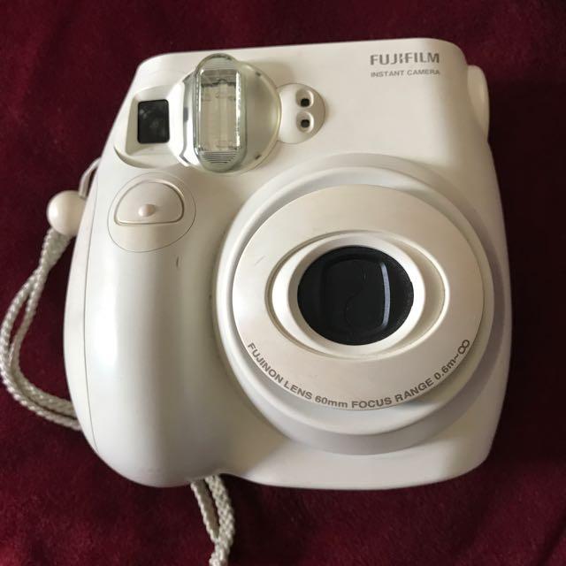 Fuji INSTAX MINI 7S White (camera only) + Hardcase