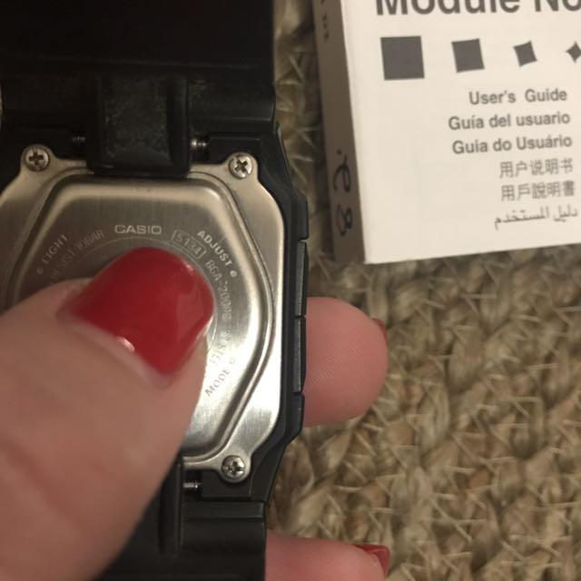 G Shock Baby G Casio Watch