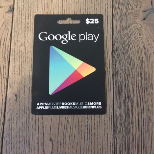 NOW $5 OFF IF YOU BUY AN OTHER ITEM FROM ME!!! (Sale Ends August 21st) Google Play $25.00 Giftcard