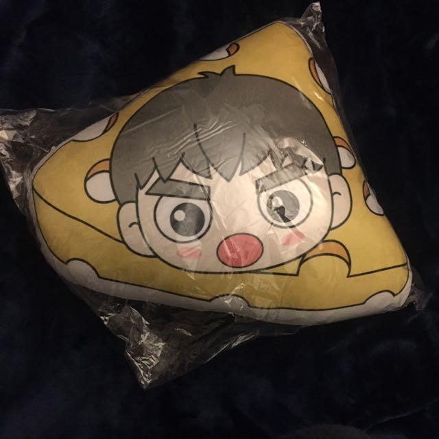GOT7 Fanmade Gotoon Jackson Cheese Pillow