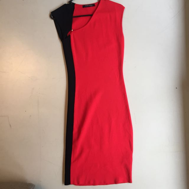 Guess Marciano Red Bodycon Dress Size 2 US / 4 UK