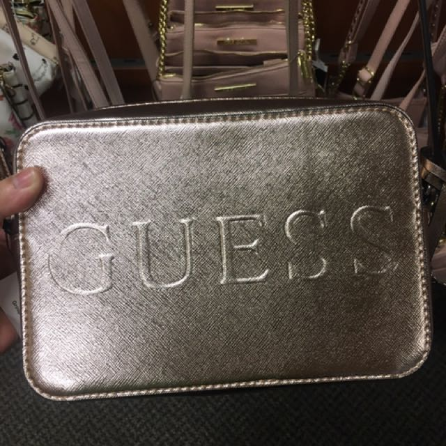 Guess Metallic Sling Bag 273900045693e