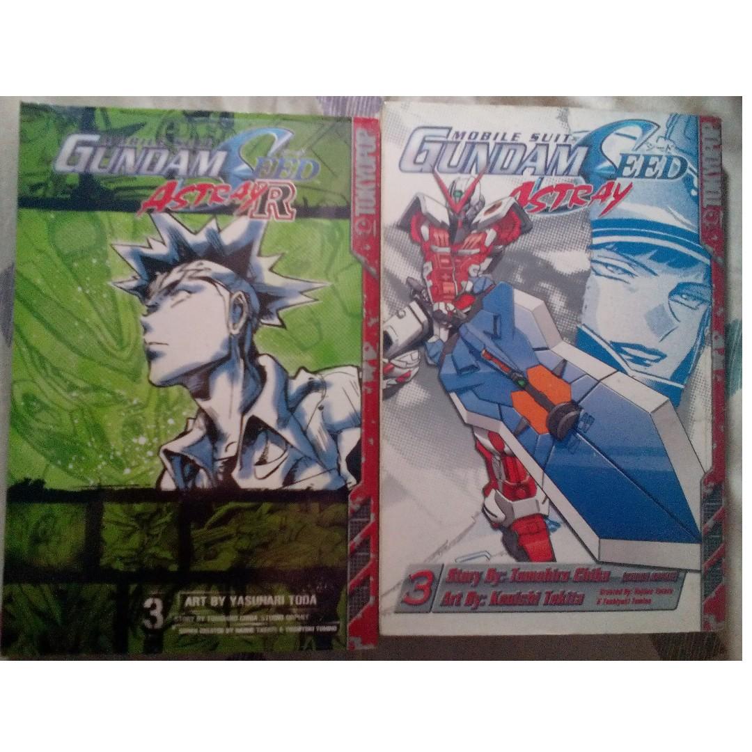 Gundam Astray Manga