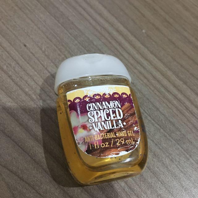 Hand Sanitizer Cinnamon Spiced Vanilla