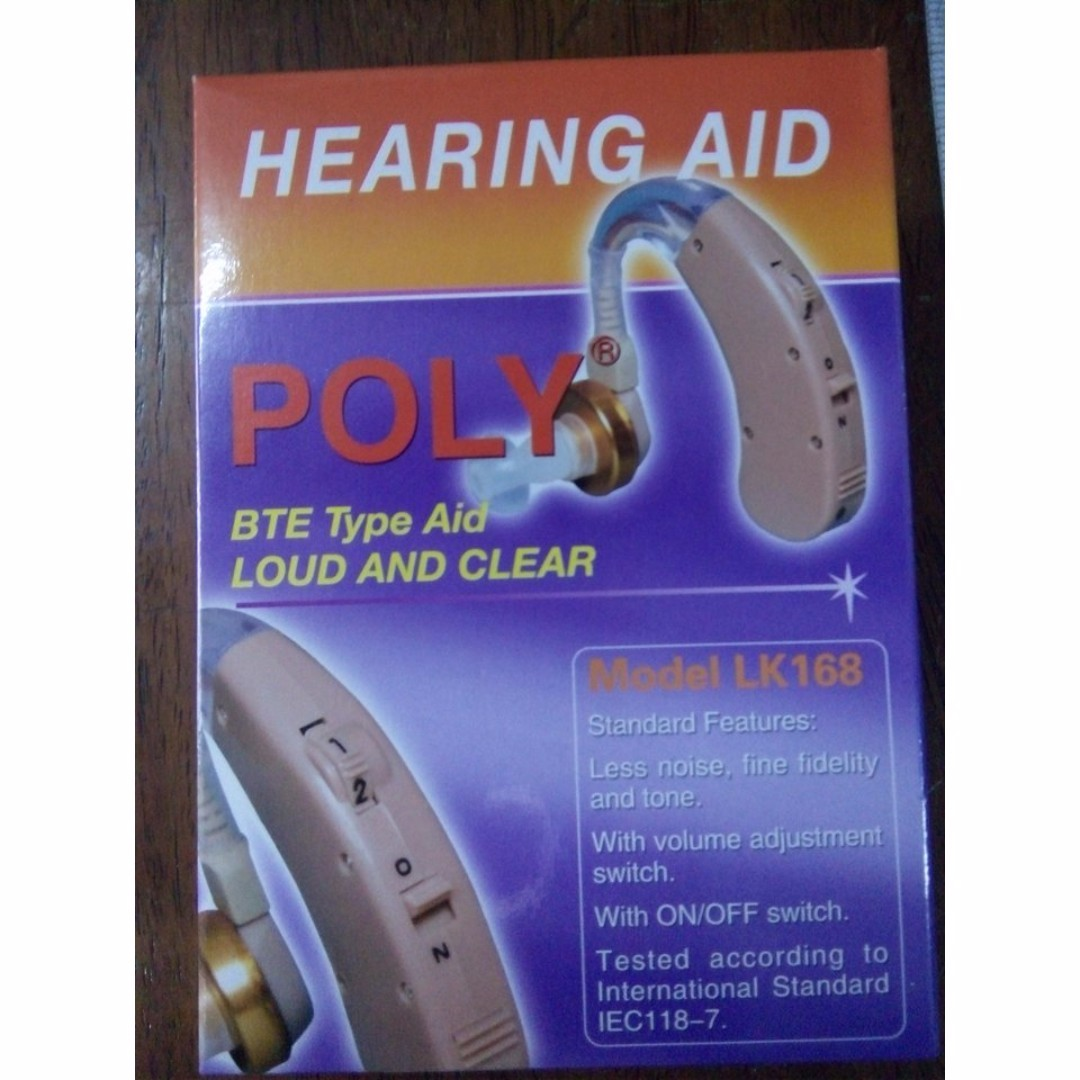 Hearing Aid (Branded/Made in Taiwan)