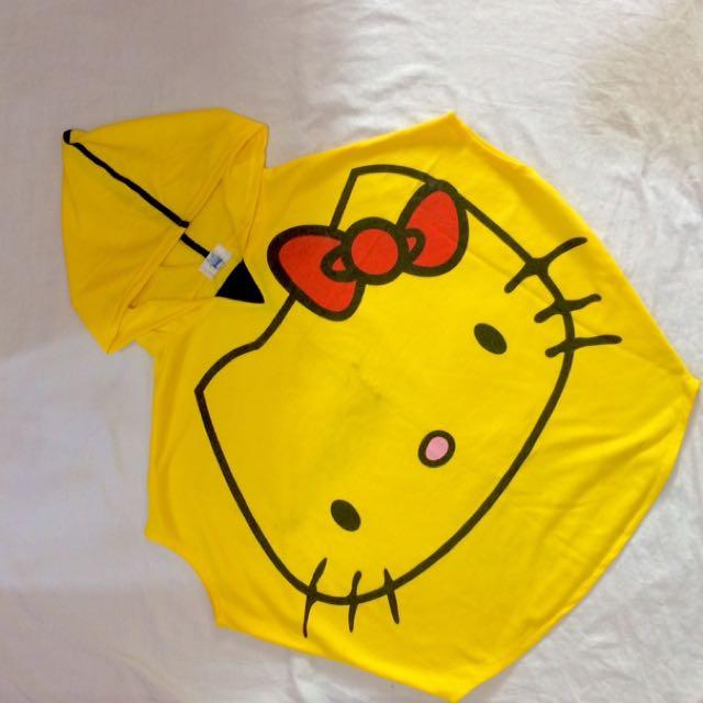 Hello Kitty Sleeveless Hoodie