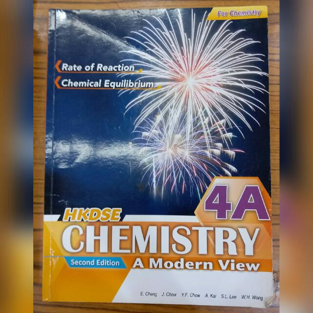 With Answer Aristo HKDSE Chemistry A Modern View Book 4A