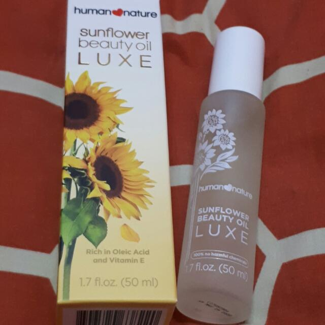 Human Nature Sunflower Beauty Oil Luxe