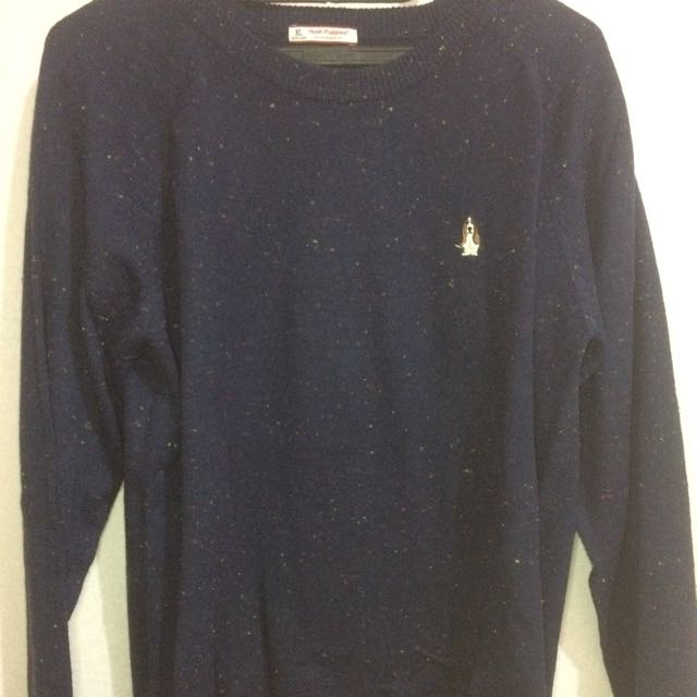 Hush Puppies Blue Sweater