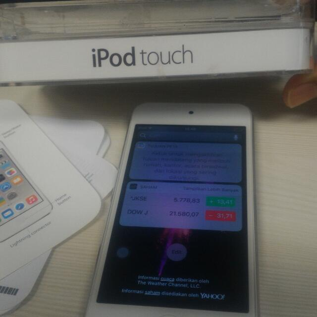 Ipod Touch 6 16g Mantab Mulus