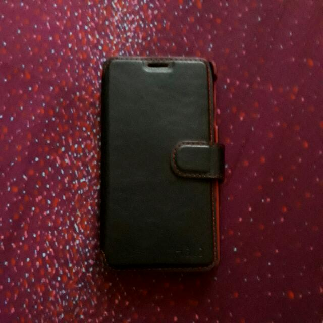 J7 Prime Leather Case (HALO)