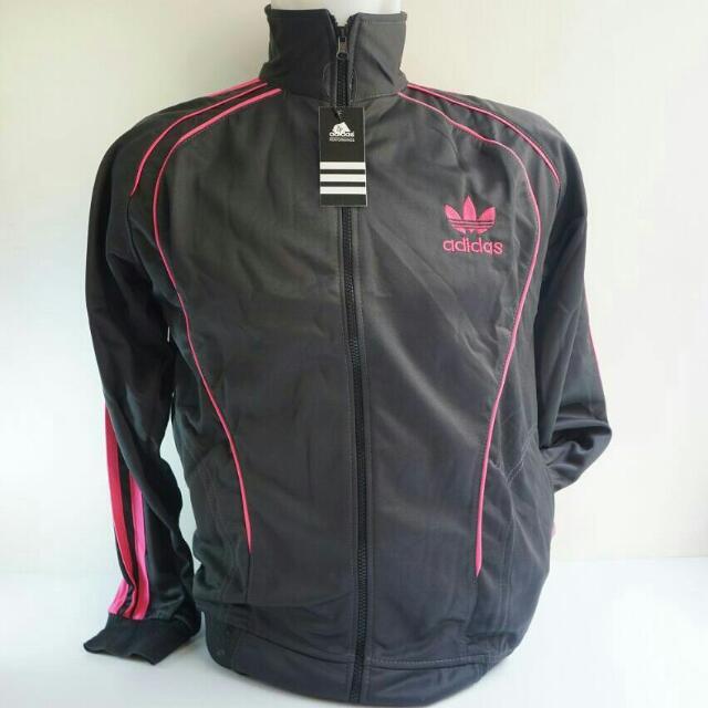 Jaket Adidas Abu Abu