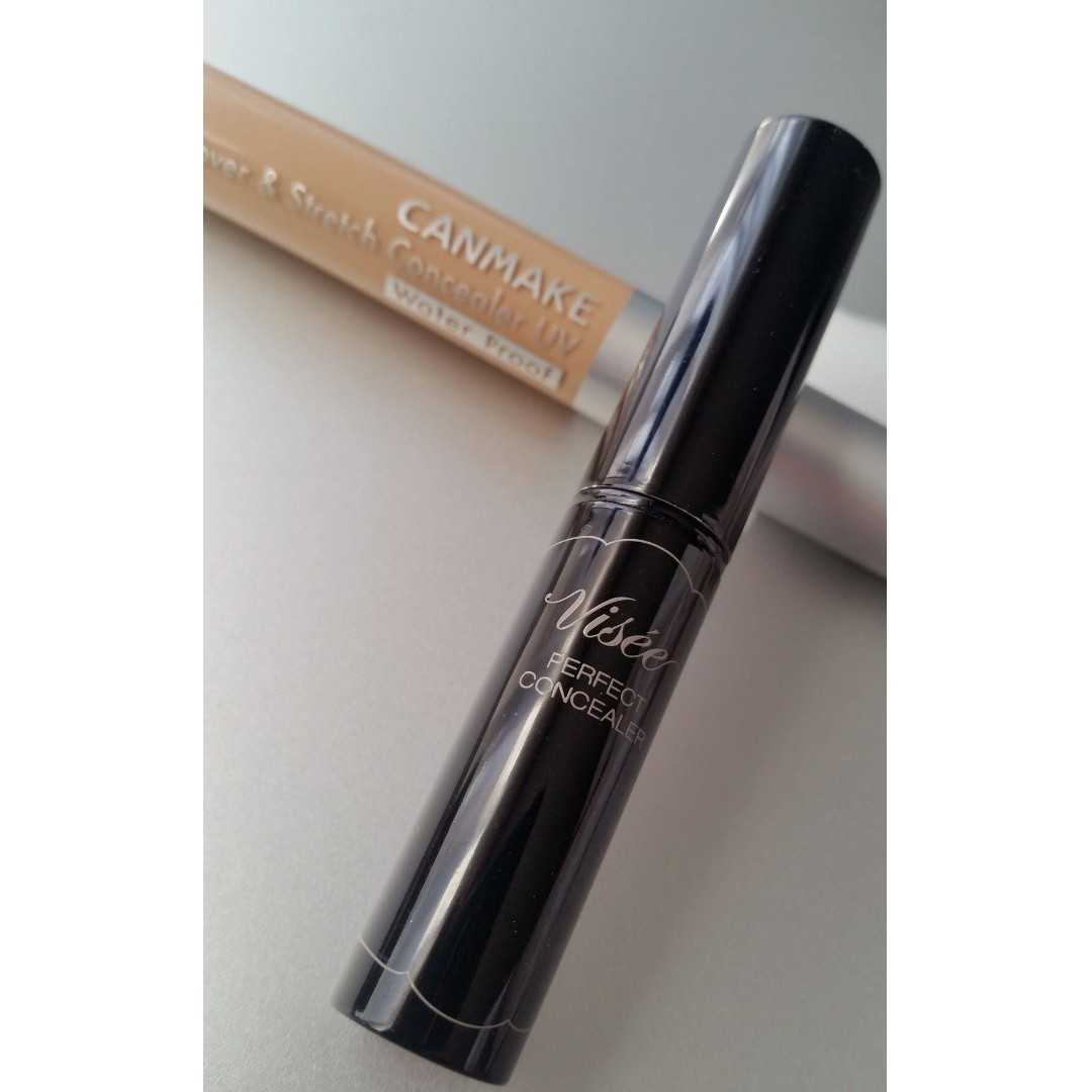 Japanese Concealers for Sale! Canmake Cover& Stretch + Visee Perfect Concealer