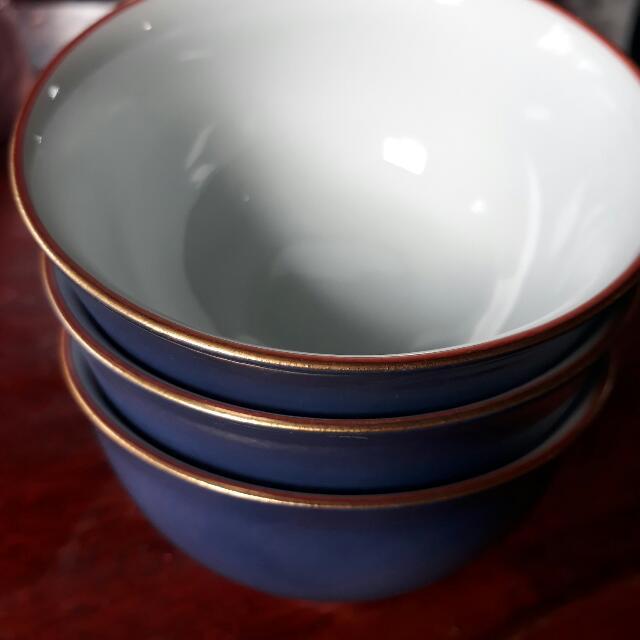 Japanese Mini Bowls/Saucers