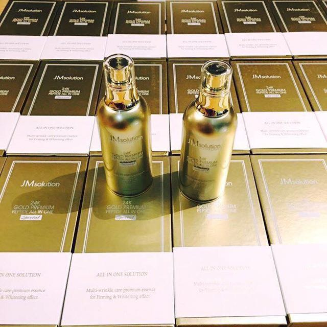 JM Solution 24k gold Premium Peptide all In One