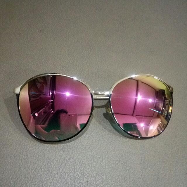 Kacamata Fashion - Pink Retro