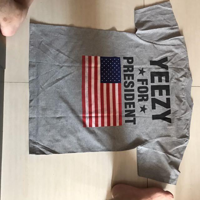 Kaos Yeezy For President (kw)