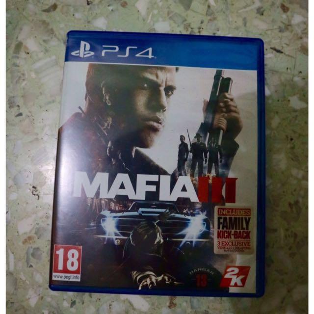 Kaset PS 4 Mafia III