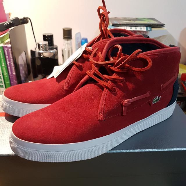 LACOSTE 中筒休閒鞋 US9