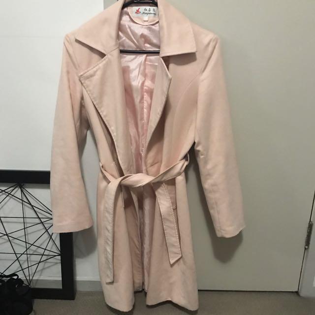 Light Pink Winter Coat!