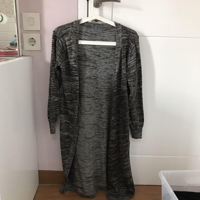 Long Grey Cardigan