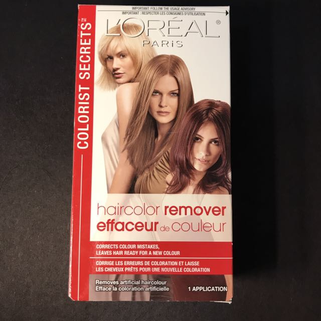 L'Oreal Hair Colour Remover