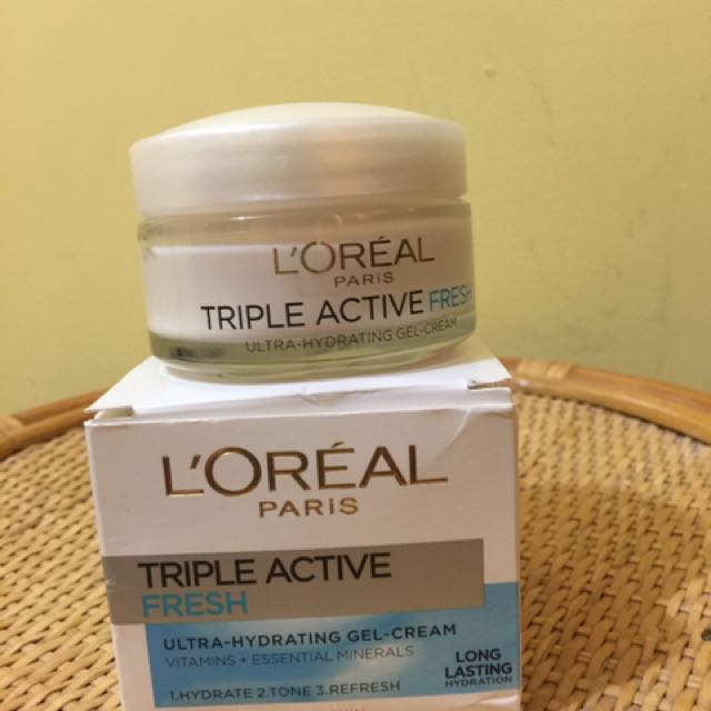 Loreal triple active fresh