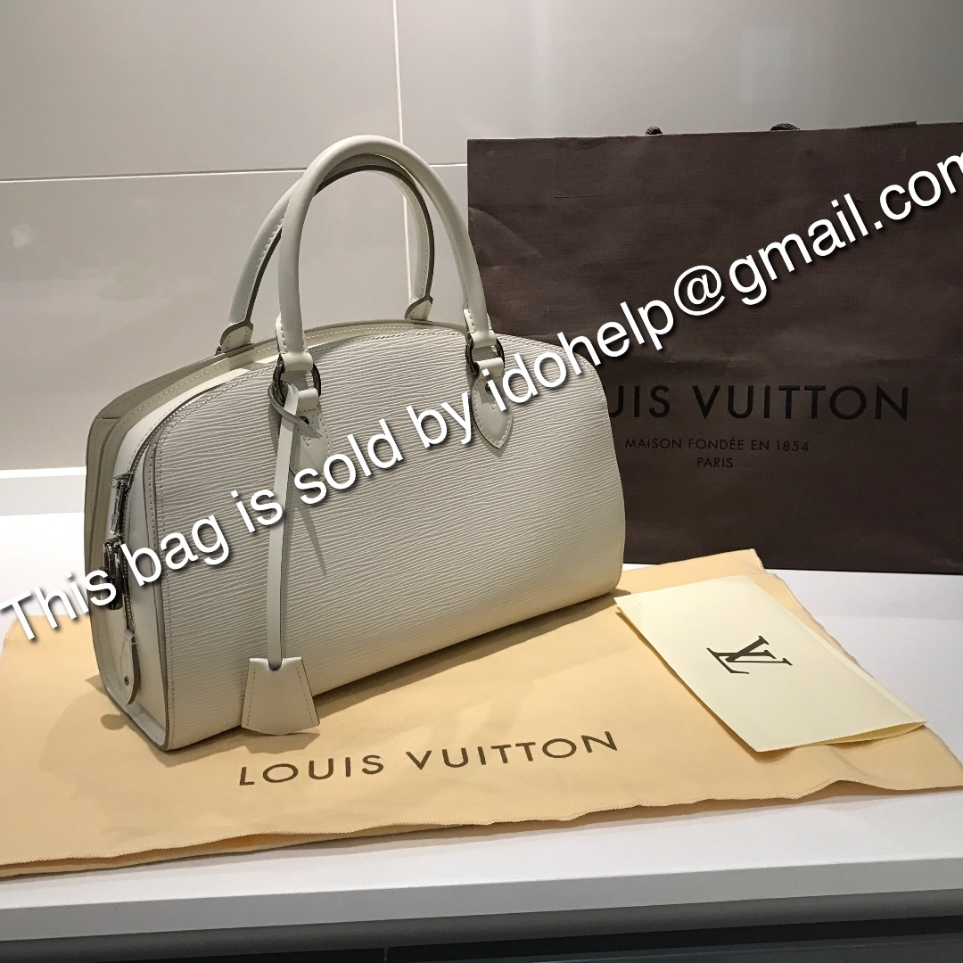 0917f0f47f7d Louis Vuitton LV Pont Neuf PM in Epi Leather Ivory - M5907J