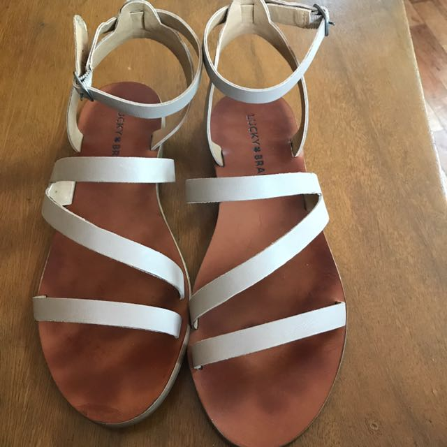 Lucky Brand Beige Sandals