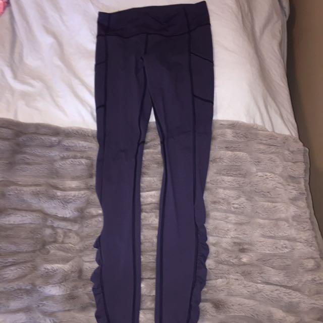Lululemon Navy Blue Leggings - Size 6