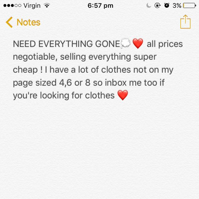 Make Offers 💕💭