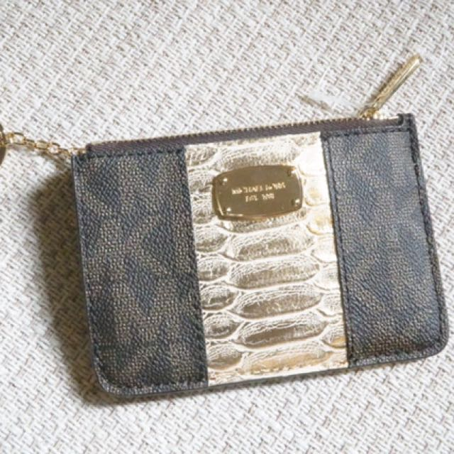 Michael Kors Coin Pouch With ID holder