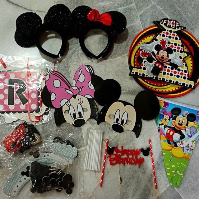 Mickey Themed Party Items