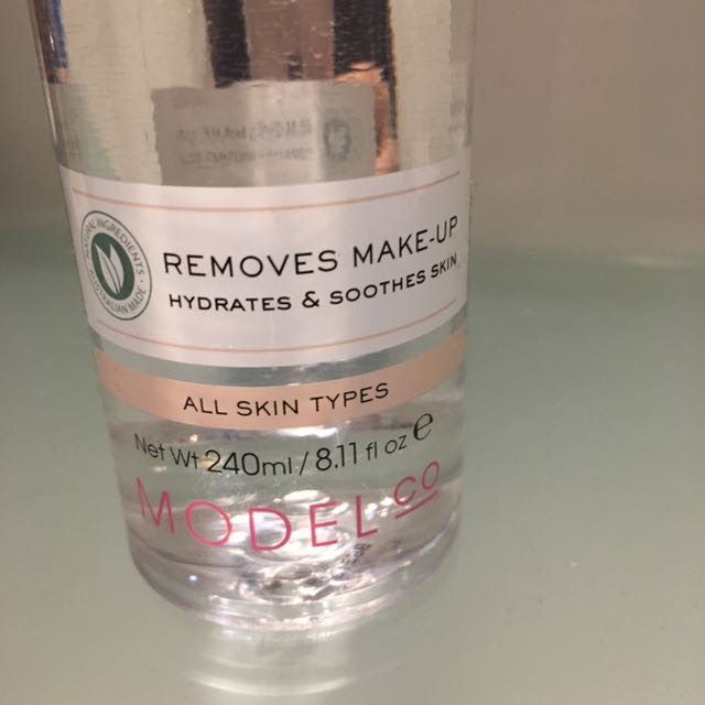 Model Co Micellar Cleansing Water