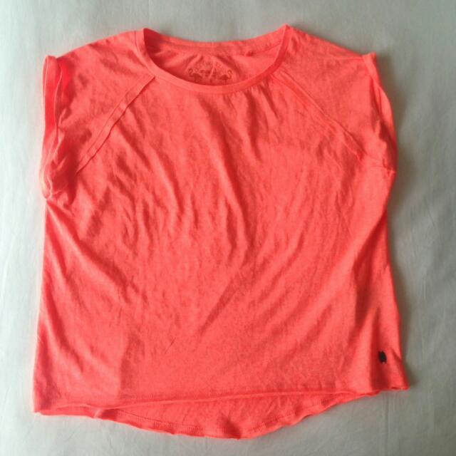 Neon Orange Comfy Shirt