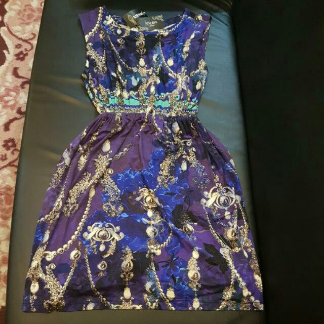 new jewels violet dress