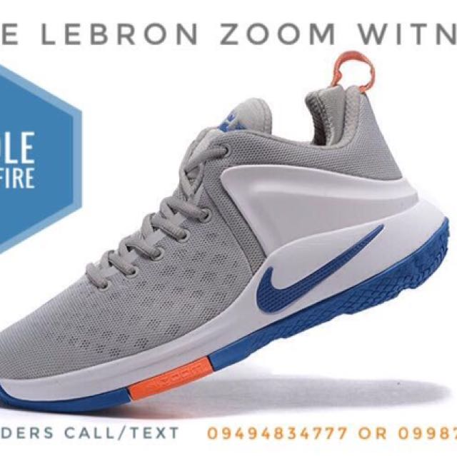 a68230dd4f17a ... spain nike lebron zoom witness mens fashion footwear on carousell 41a67  24ecf