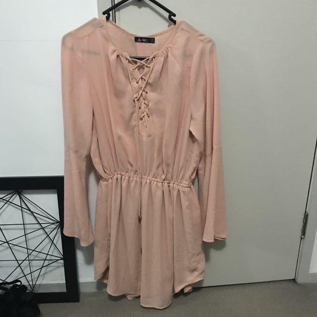 Nude/peach Dress