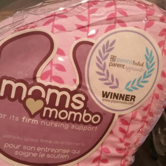 Nursing Pillow 2 Sided Moms Mombo