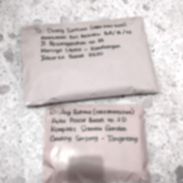Paket Yang Akan Dikirim