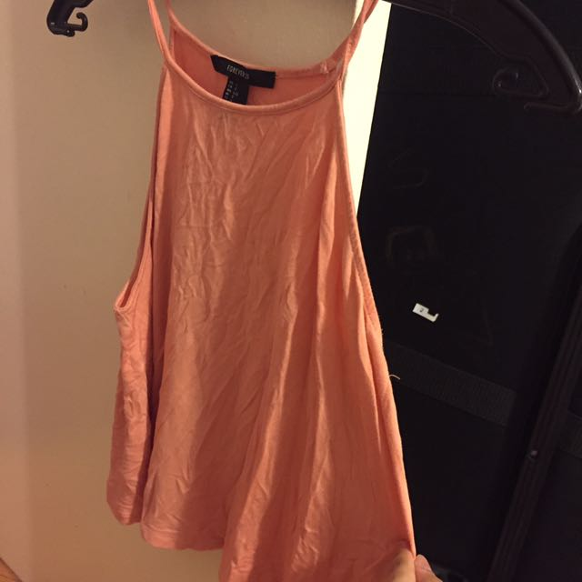 Peach Forever 21 Tank Top L