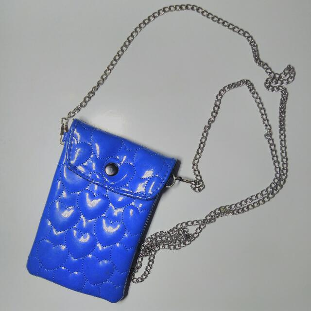 PHONE PURSE WITH CHAIN STRAP/ MINI POUCH