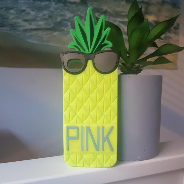 PINK Pineapple iPhone 5 Phone Case