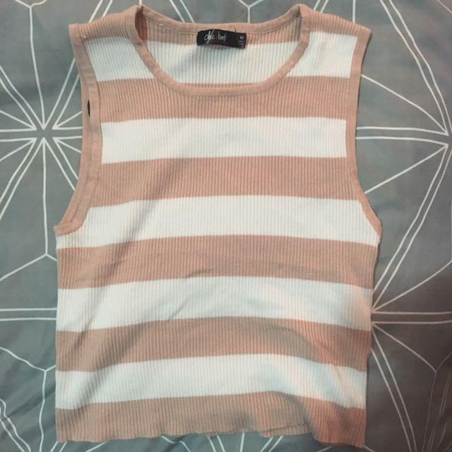 Pink/white Crop