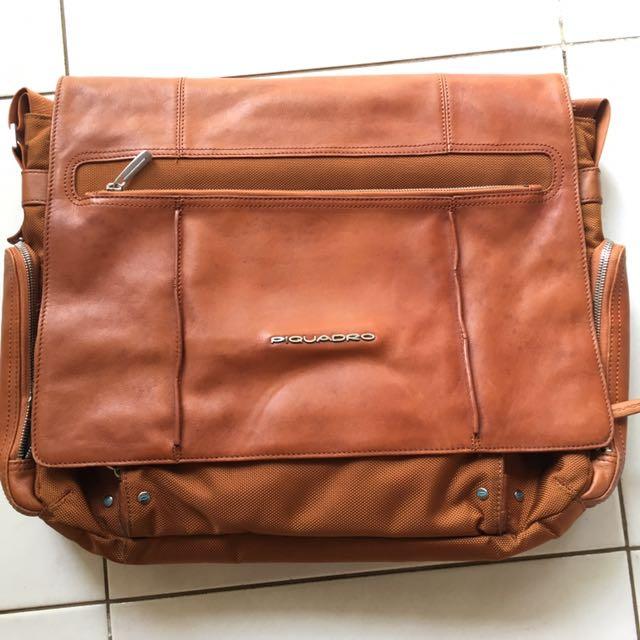 Piquadro Kanvas n Leather