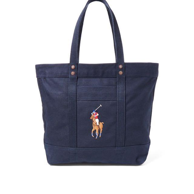 2318a8f049 Polo Ralph Lauren Tote Bag (NAVY)