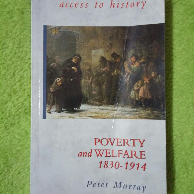 Poverty And Welfare 1830 - 1914