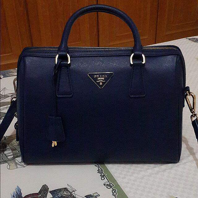 Prada Navy Bag